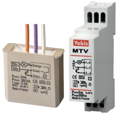 500w dimmer without neutral - Yokis